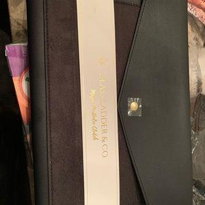 glass ladder Bags - Glass Ladder vegan leather suede Megan portfolio
